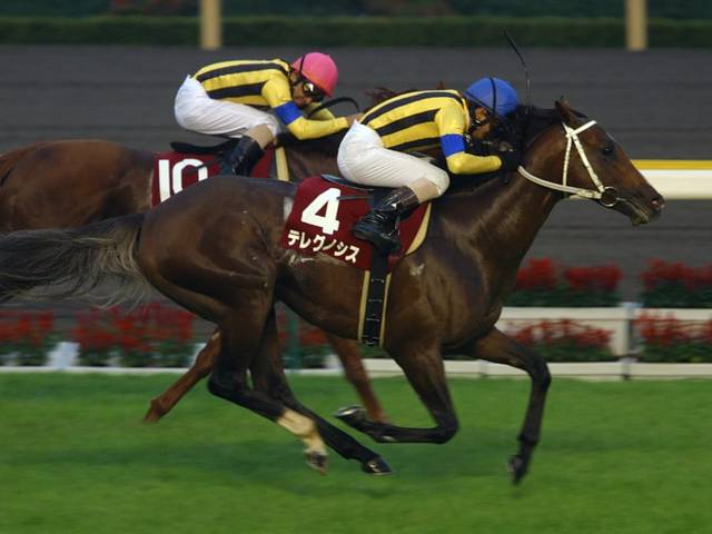 2004年10月10日 毎日王冠 芝1800m 東京競馬場