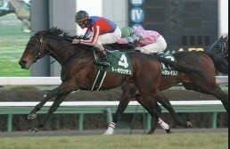 2003年1月5日 中山金杯 芝2000m 中山競馬場