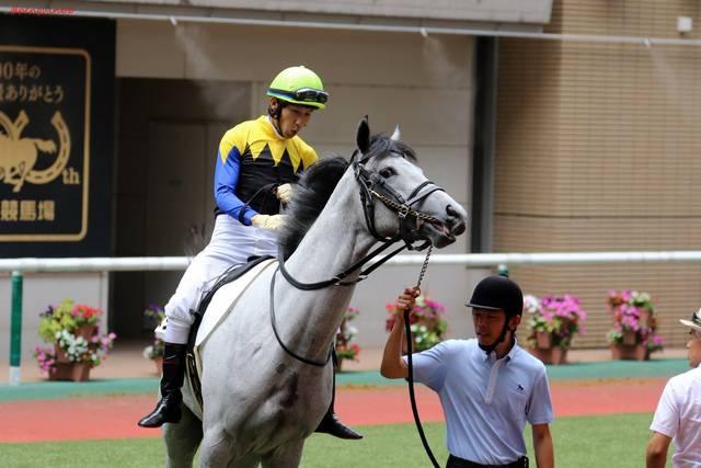田辺裕信騎手が継続騎乗するボスジラ