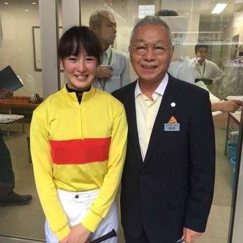 かねてから親交のあるDr.コパと藤田菜七子