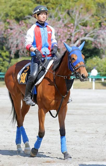 武藤雅騎手と共に海外初挑戦のジョディー
