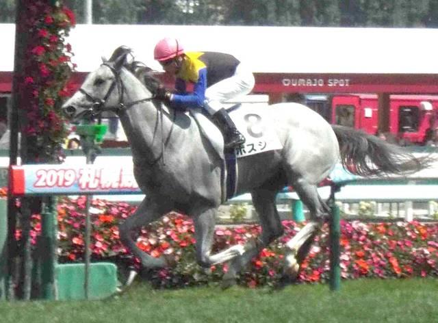 2着に4馬身差を付ける圧勝を飾ったボスジラ