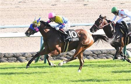 前走は他馬に有無を言わさずの完勝だったサウンドキアラ