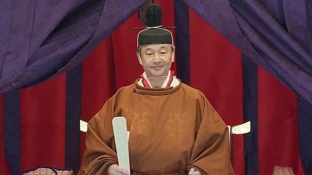 即位の儀式を執り行った新天皇陛下