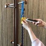 【ヨーク チェーンスリング】長さ調整自由自在!RFIDタグ付チェーンスリングの長さの変え方
