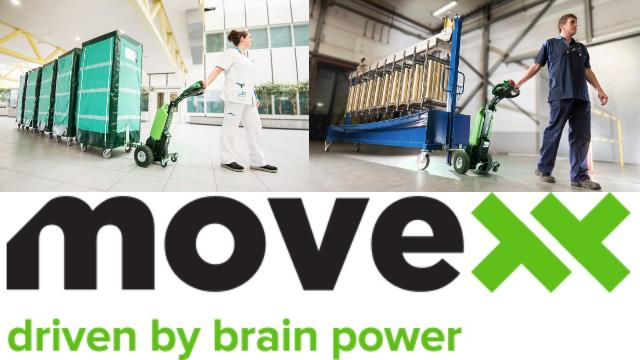 【Movexx】流通現場革命!「省人」「省力」「安全」充電式牽引車を使ってみた。