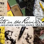 【Rite in the Rain】雨ニモマケズ!アメリカ軍でも採用の最強ノート!