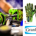 【GranberG】独自開発の特許素材使用。耐切創・耐衝撃手袋でケガ回避!