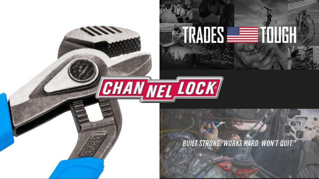 【CHANNEL LOCK】アメリカの古豪メーカー渾身の最新作をご紹介!