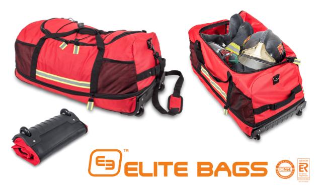 【ELITE BAGS】スペイン発!折りたたみ可能な大容量ダッフルバッグ。キャスター付きでらくらく持ち運び♪