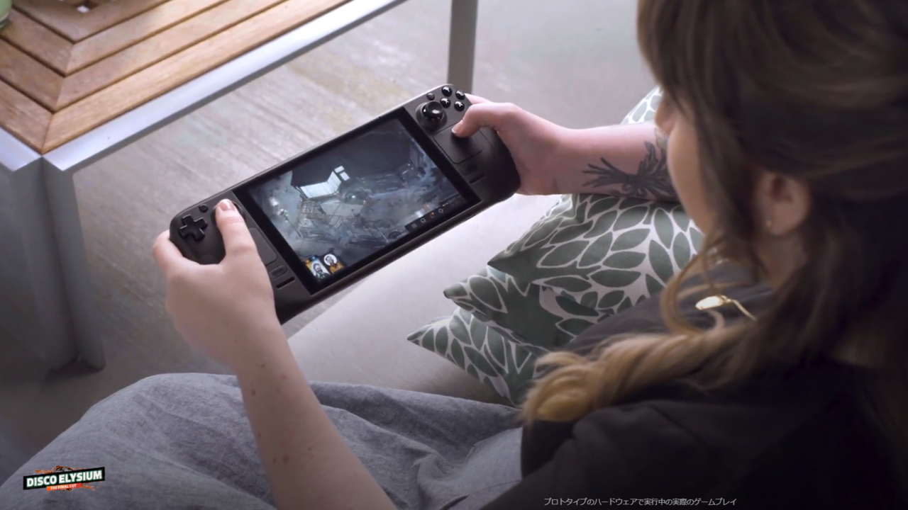 Steam運営のValveが手掛けるポータブル型PC「Steam Deck」はゲーム業界にパラダイムシフトを引き起こすか