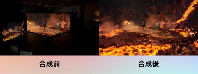 図2:CGを活用した映像のイメージ