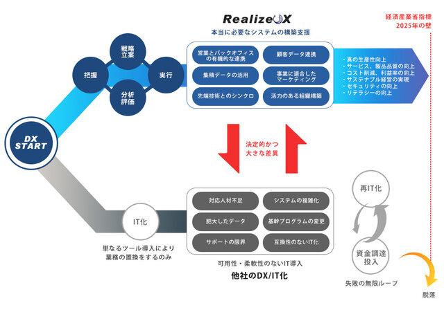 図1:「RealizeDX」の概要