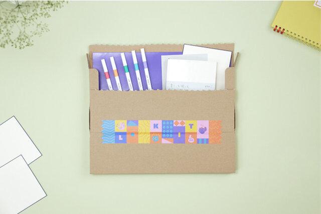 図3:Lakitで届くキット イメージ(キットに含まれ...