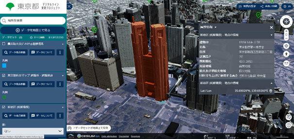 図2:デジタルツイン3Dビューアのイメージ