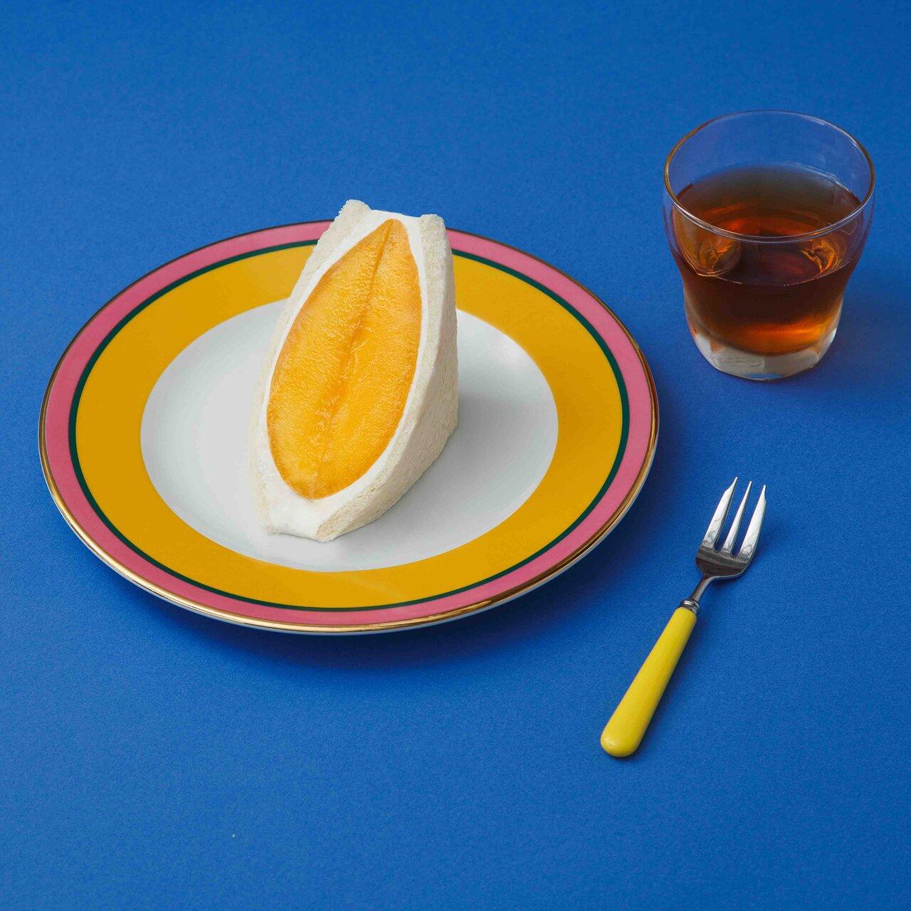 ヴィーガンフルーツサンド専門店、「究極のマンゴーサンド」を発売