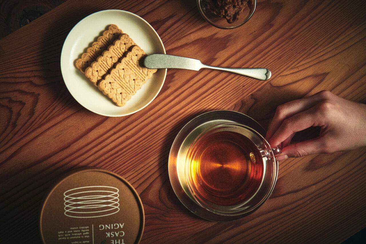 どんな味わい?酔うようで酔わないウィスキー紅茶「THE CASK AGING」