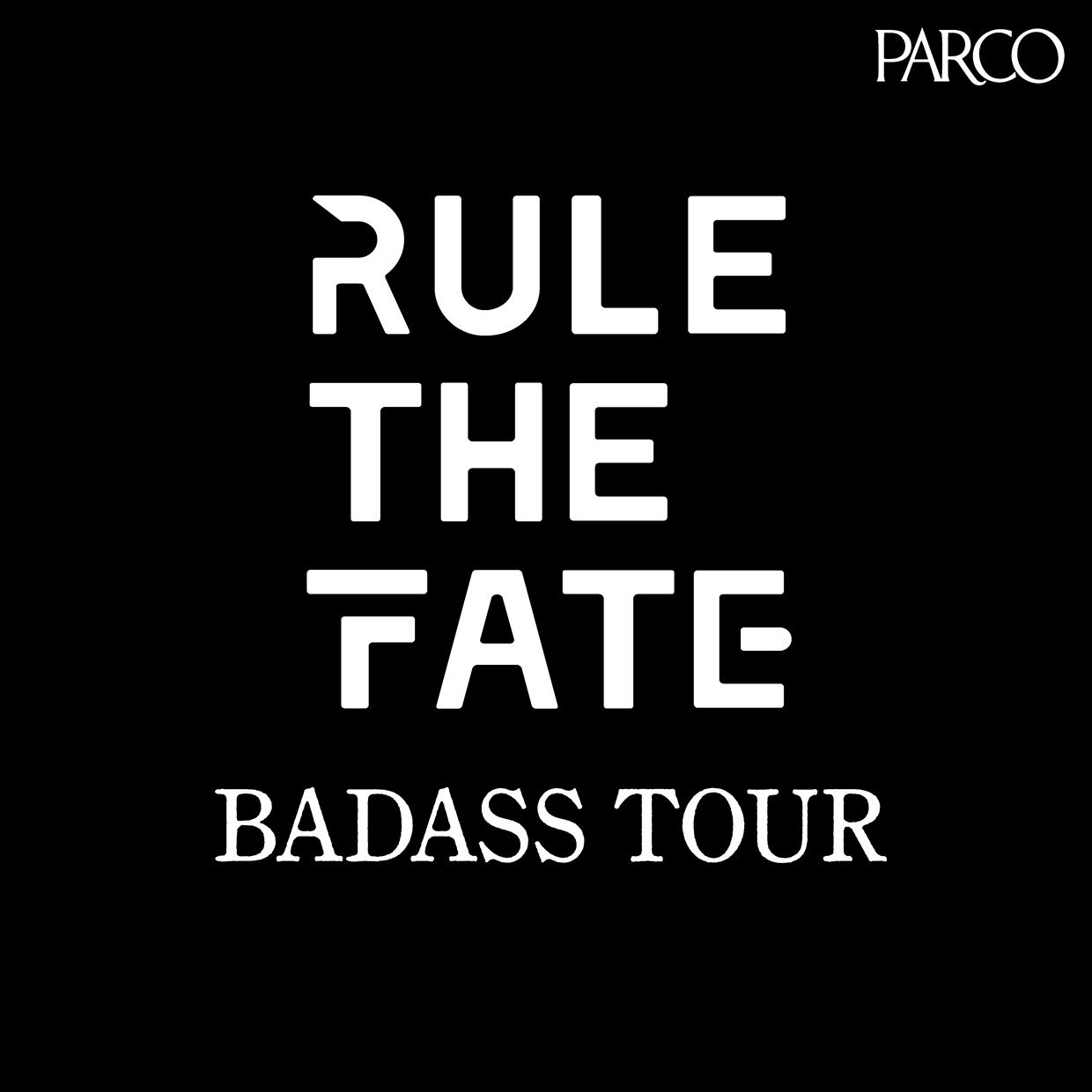 MY FIRST STORY Hiroのクリエイティブディレクターブランド「RULE THE FATE」、初ギャラリー『RULE THE FATE BADASS TOUR』を開催