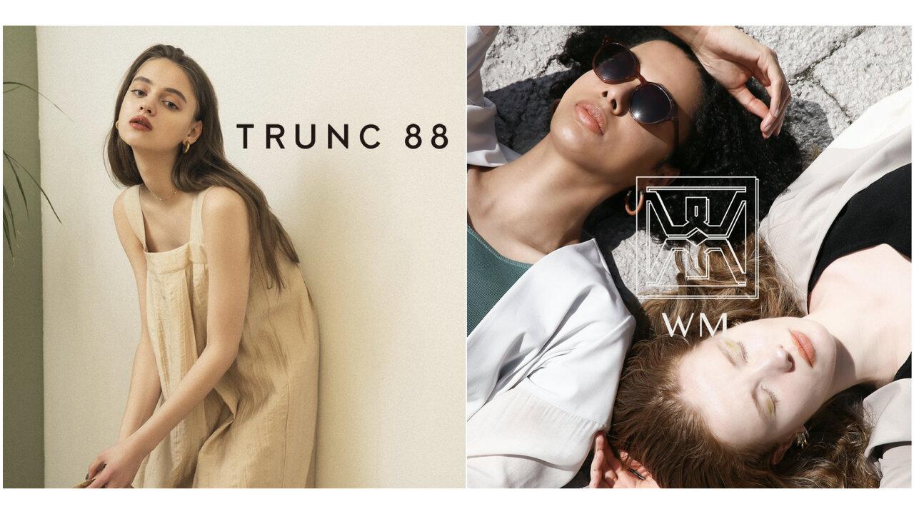 今すぐ着られるアイテムも!「TRUNC 88」「WM」がポップアップストア開催