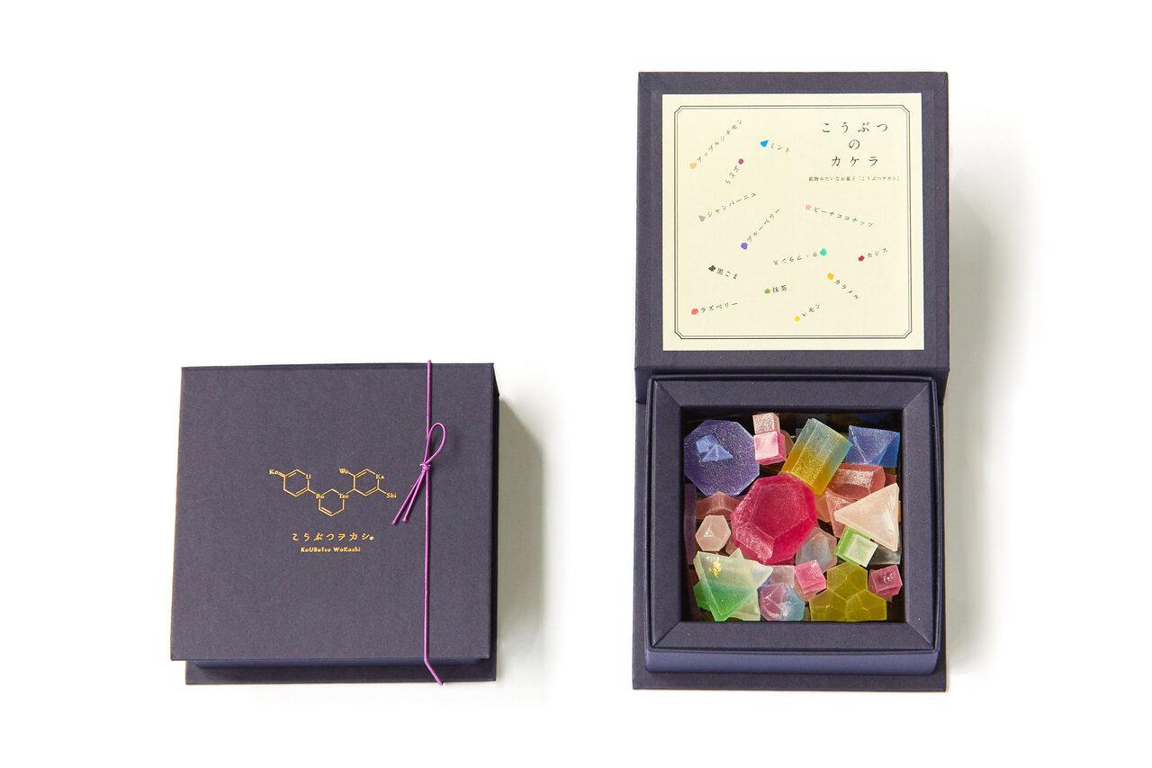 食べるアート。宝石のようなキラキラ和菓子「こうぶつヲカシ」【お取り寄せ】