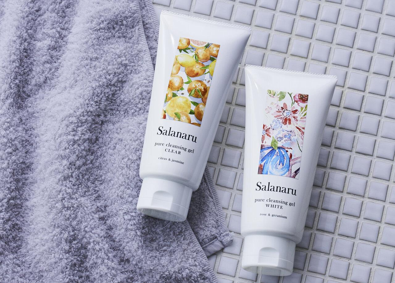 まっさらな肌へ。3段階に変化する体感クレンジングジェル「Salanaru」