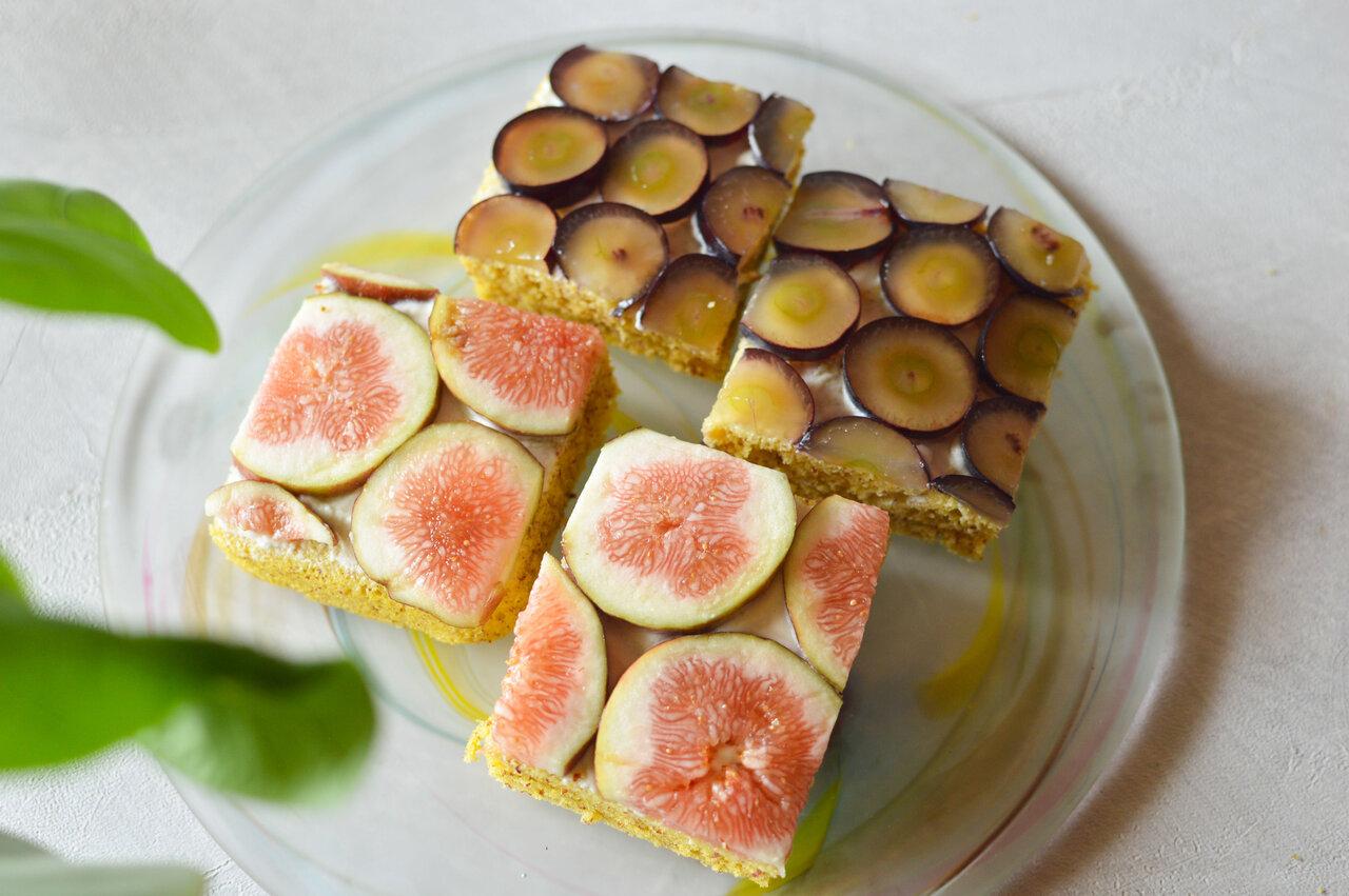 ヘルシーだから罪悪感0。ケーキみたいな「秋のフルーツオープンサンド」|カラダ整うパンレシピ