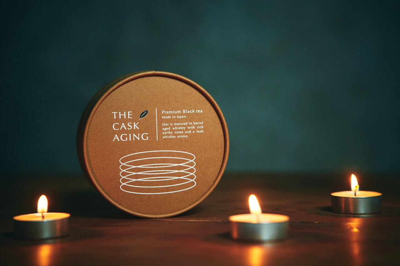 """ウィスキー樽熟成の国産紅茶「THE CASK AGING」再販決定!SNSで話題となった""""酔うようで酔わない""""ノンアルコールティー"""
