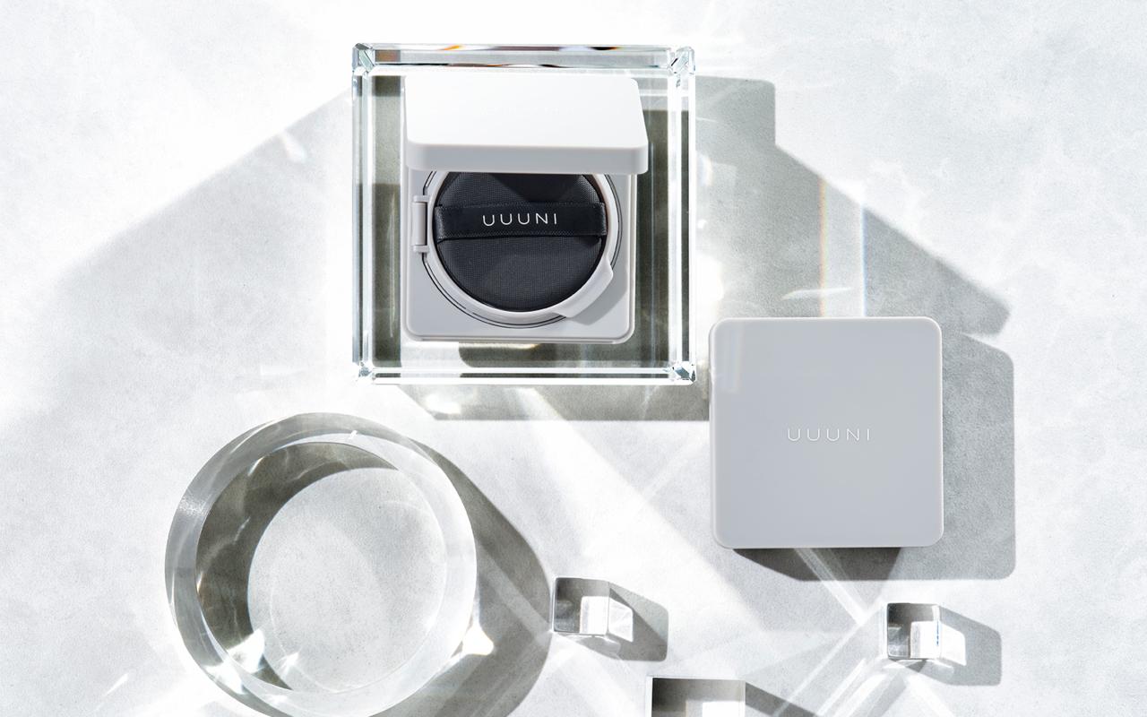 たっぷりの美容成分配合で透明感の高いツヤ肌へ導く。スキンケア発想のメイクブランド「UUUNI」