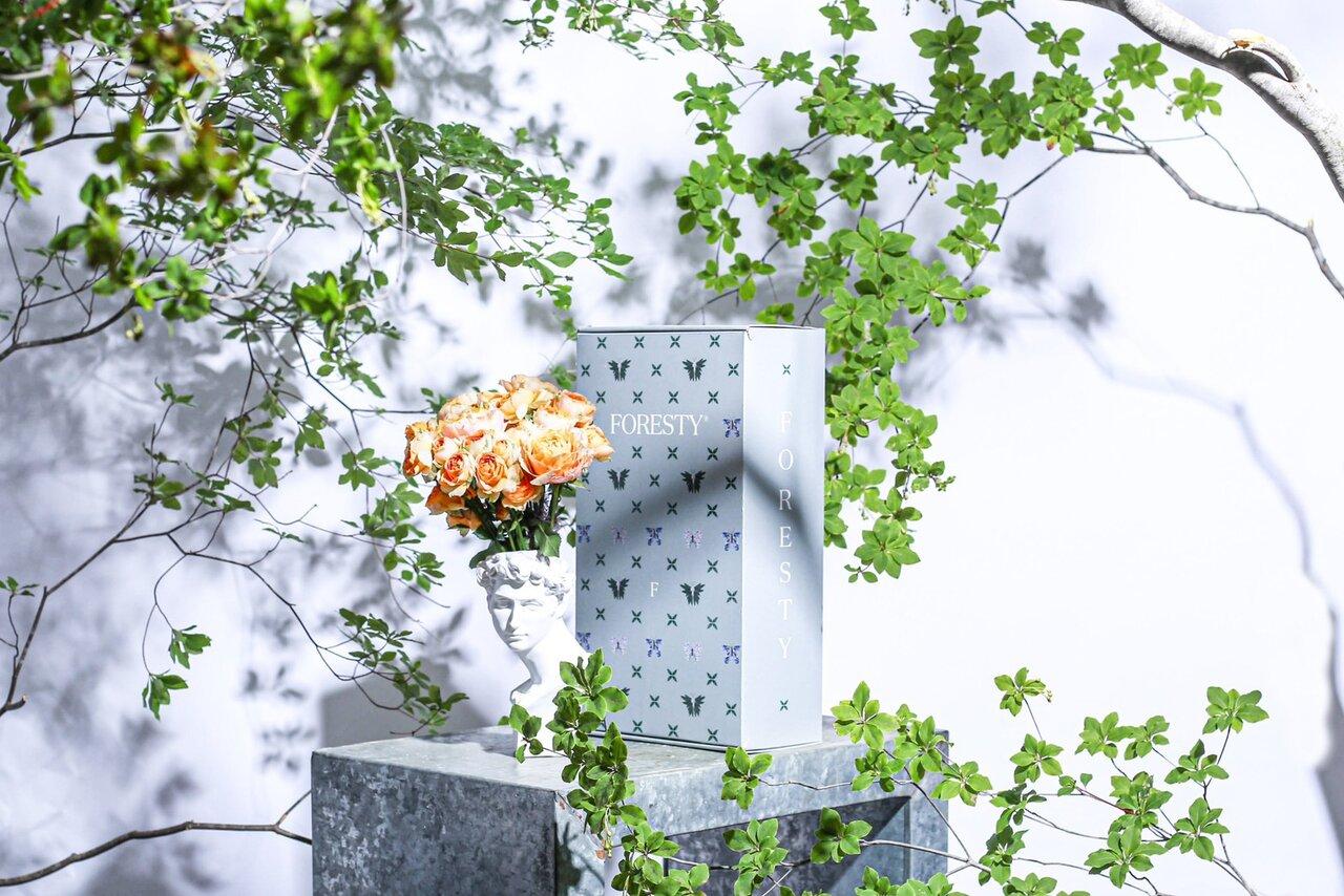 花を飾って、森をつくる。社会貢献ができる花の定期便「FORESTY」