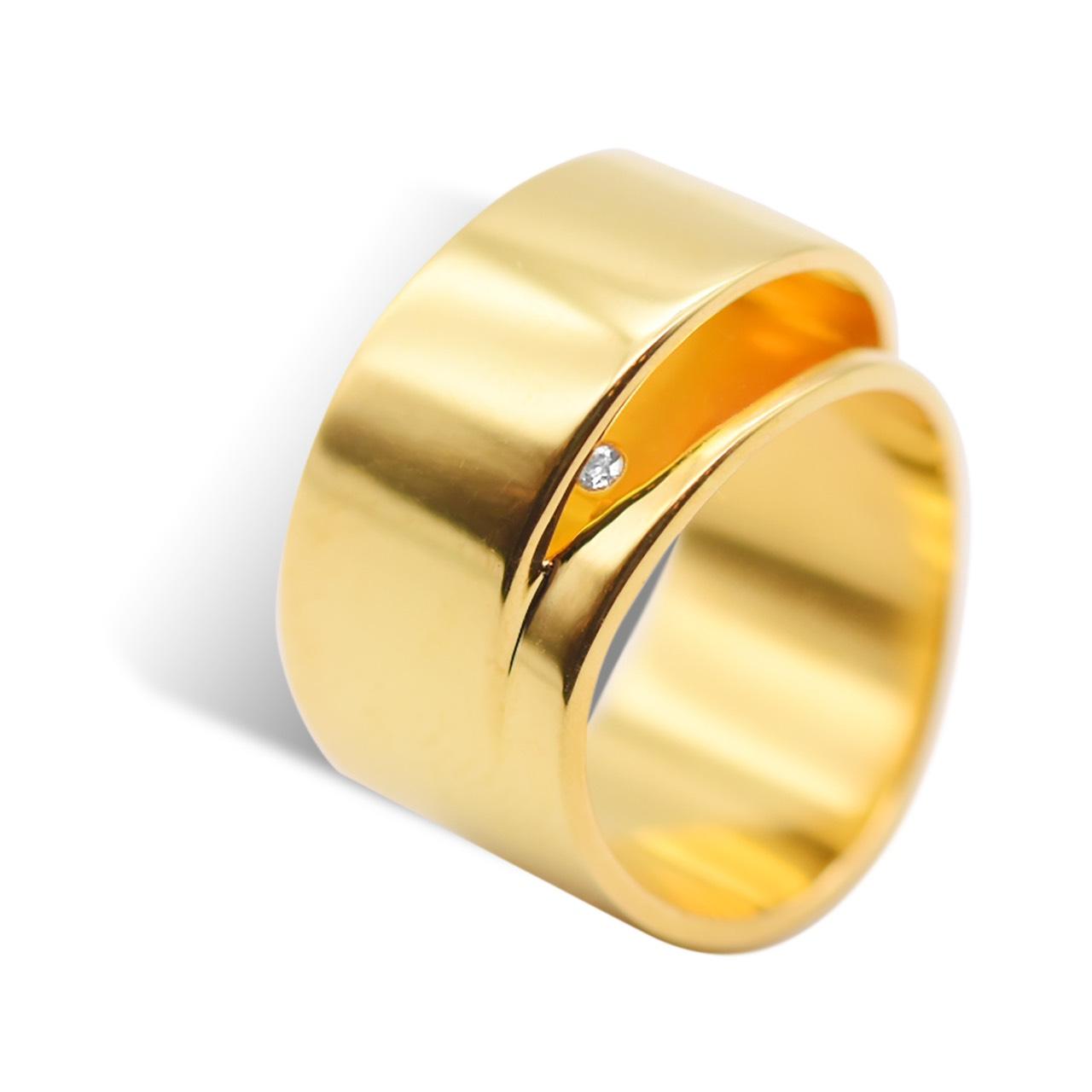 <Duplus Ring> K24 ゴールドヴェルメイユ 30,800円