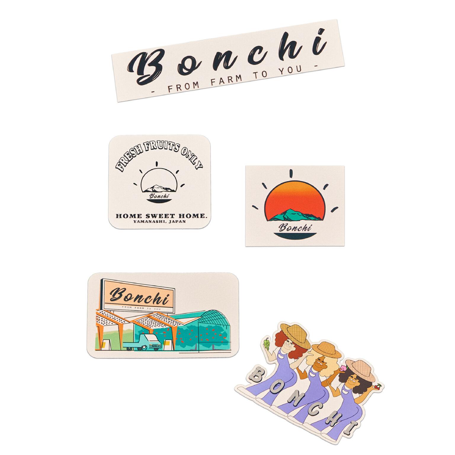 <Bonchi オリジナルステッカー>
