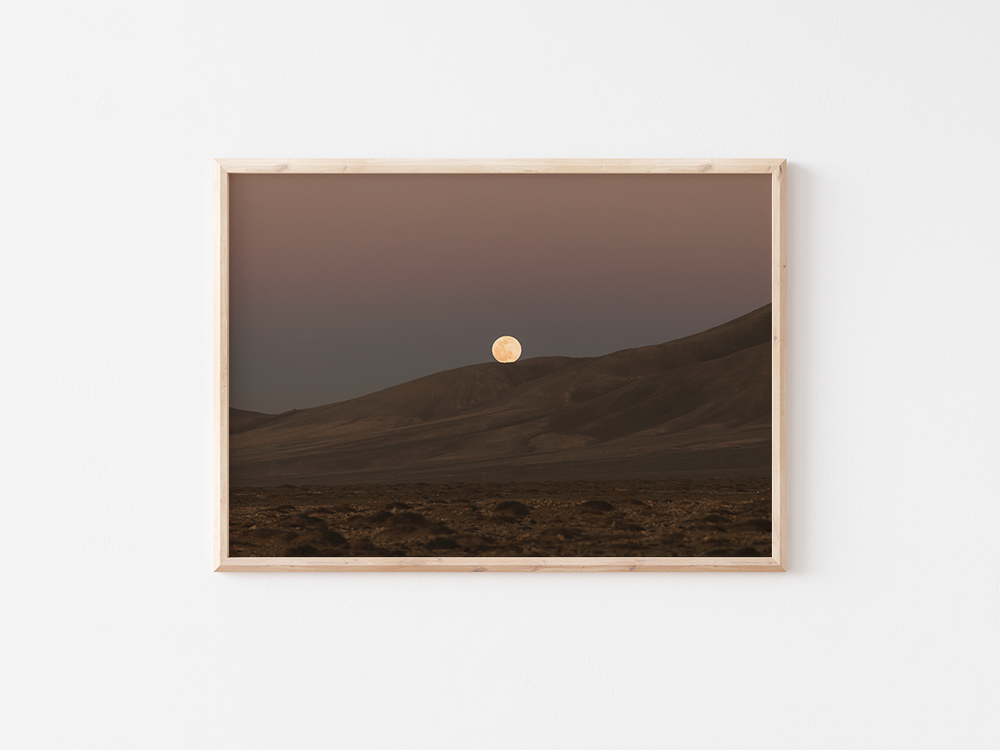 Moon on Hills | Fuerteventura, 2021