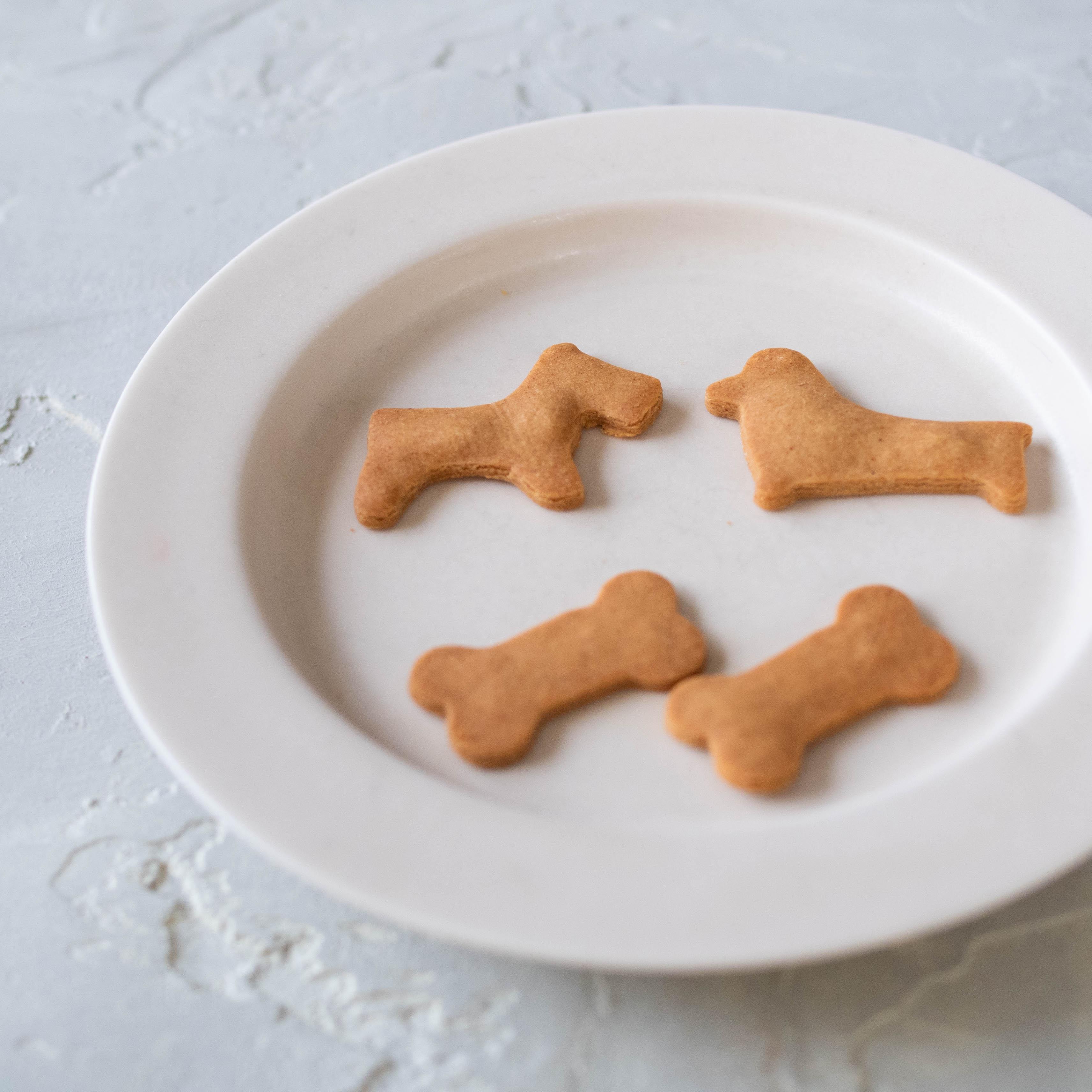 大豆の香ばしさ!米粉のきな粉クッキー