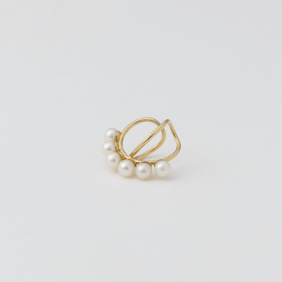 pearl x ear cuff