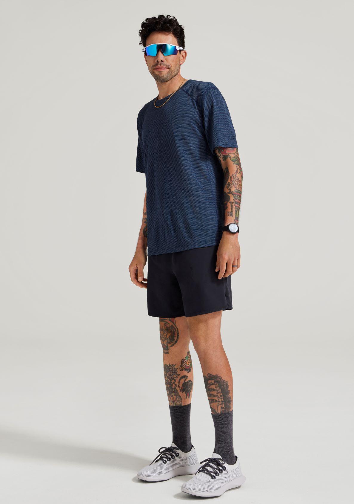 ナチュラル ラン Tシャツ(MEN'S)